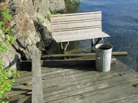 Lost: 5' Wood bench seat in Clearwater Bay, Ontario