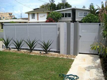 60p M2 Aluminium Slat Fence Amp Privacy Screen Building