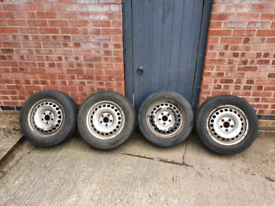 4 x 205/65 tyres