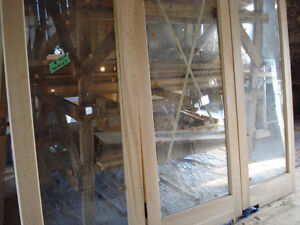 Solid Maple Doors with Beveled Glass Peterborough Peterborough Area image 2