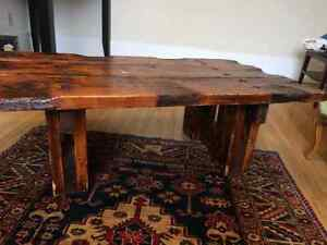 Gorgeous reclaimed wood coffee table $100 OBO