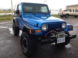 2003 Jeep TJ Rubicon SUV, Crossover