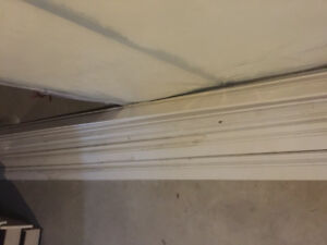 Tons of Primed White Baseboard