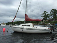 18.3 ft Edel sailboat with trailer