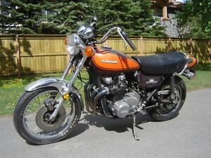 wanted 1973 to 1975 vintage Kaw KZ 900 WANT TO BUY BASKETCASE