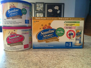Assorted formula samples and coupons