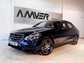 2015 Mercedes-Benz E Class 2.1 E220 CDI BlueTEC AMG Night Edition 7G-Tronic
