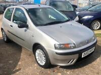 2003/03 Fiat Punto 1.2 ( 60bhp ) Active Sport LONG MOT EXCELLENT RUNNER