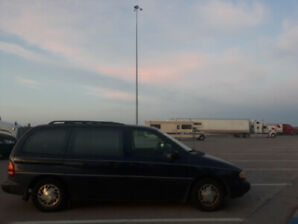 1996 Ford Windstar GL - perfect traveller car