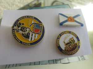 THREE INTERESTING COLLECTORS PINS