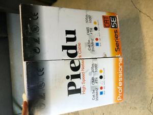 BNIB Piedu high speed network cable cat5e 350mhz