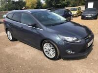 2013 Ford Focus 1.6 TDCi Zetec Estate 5dr Diesel Manual (109 g/km, 113 bhp)