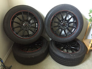 New rims and tires for sale