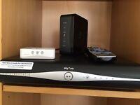 SKY box HD, 3D On Demand, 500gb. Wifi HUB and Wifi Booster