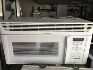 Kitchen aid over the range exhaust system light fan microwave