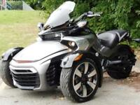 16/16 CAN-AN SPYDER F3-S 1330 ACE TRIKE 2,900 MILES