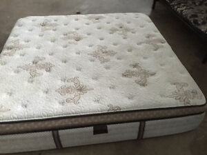 Used Sterns and Foster kingsize mattress for sale