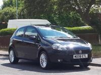 Fiat Grande Punto 1.4 8v 2008MY GP,ONLY DONE 64K,FULL MOT,LOW TAX,LOW INSURANCE