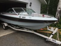 1987 v6. Inboard outboard. With trailer