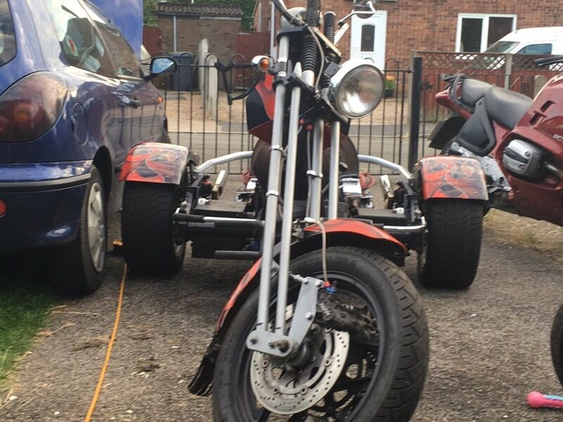 Chopper Custom Vw Trike In Metheringham Lincolnshire