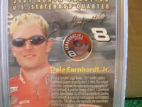 Dale Earnhardt Jr. collectable coin