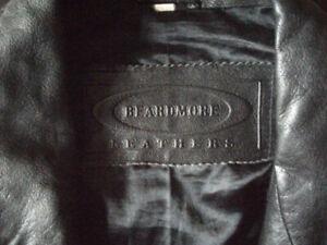 Men's Leather Coat XXL