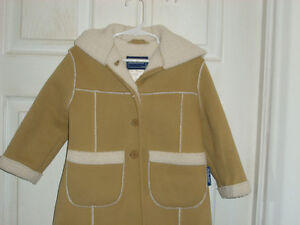 Rothschild Faux Suede/Sherling Coat