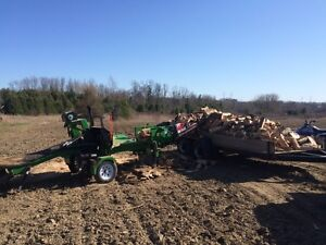 Mobile wood processing