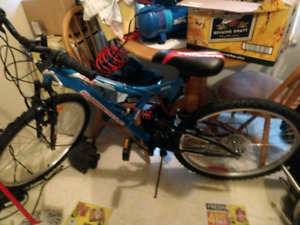 Supercycle 26 vice full suspension mountain bike