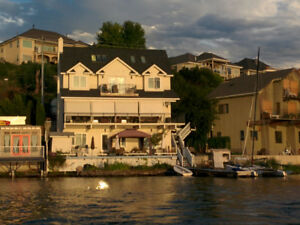 Penticton Skaha Waterfront Home for Long Term Rental Available