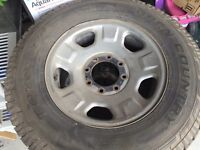 Toyo Open Country Ford F-350 / F-250 8 bolt rims and tires
