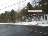 7 potential lots totalling 38 Acres, between Drive in and Hwy 11