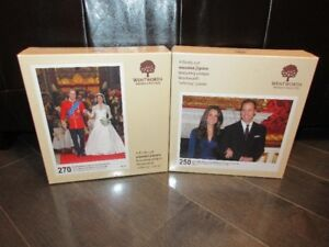 Prince William and Catherine Middleton Wentworth Wooden Puzzles