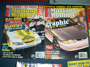 MUSTANG MONTHLY MAGAZINE-3 BACK ISSUES-1988-1996-CONVERTIBLES!