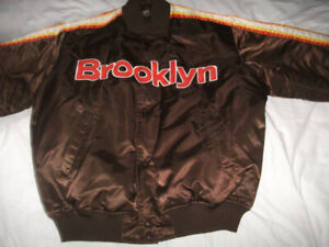 BOMBER STYLE, BROOKLYN  LINED JACKET .XL SIZE(56 INCHES) EX.