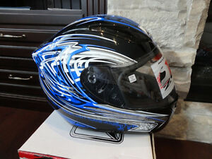 Zoan Revenge Helmet Size XS Blue w/4 Visors Included!! Brand New Kitchener / Waterloo Kitchener Area image 2