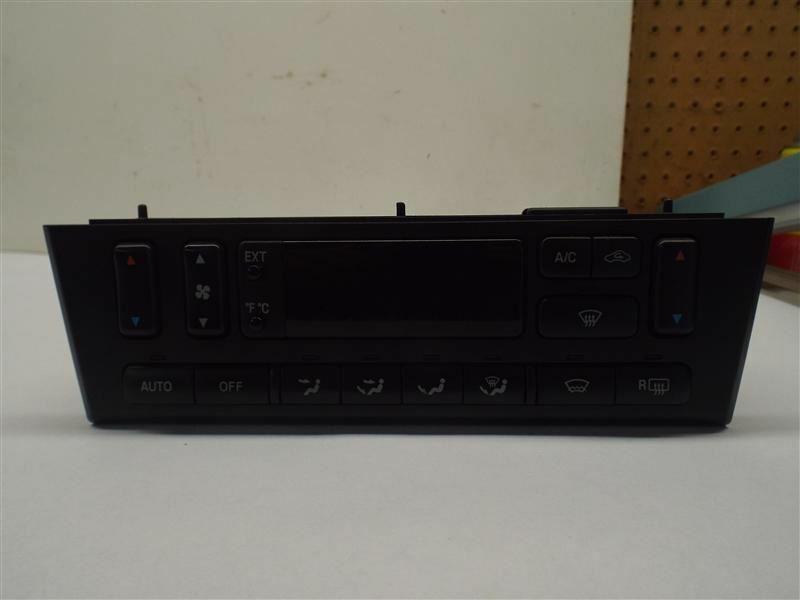 Temperature Control Main Control AC Fits 01-02 LINCOLN LS 208797