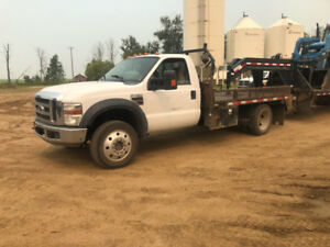 2008 Ford F-450 Pickup Truck Flatbed