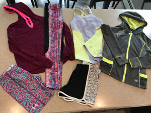 Girls size 10 Athletic Lot-Under Armour, Ivivva, Reebok and more