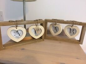 Rustic/ Shabby Chic Wooden PhotoFrames