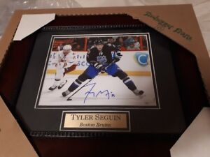 NHL - Tyler Seguin Autographed and Framed All-Star picture