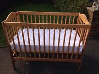 IKEA babies cot with mattress