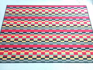 MOVING SALE - colourful IKEA rug (flatwoven)
