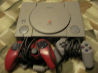 Play Station 1 with Two Controllers_ $15 OBO