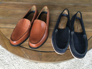 New 2 pair men's size 10 Rockport loafers