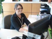 Service writer/receptionist