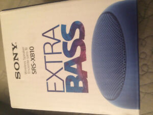 Sony EXTRA BASS Water-Resistant Bluetooth Wireless Speaker