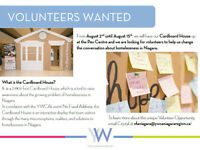 Cardboard House Volunteers Needed!