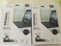 Brand new! Targus Versavu Keyboard Case with Bluetooth for iPad Air