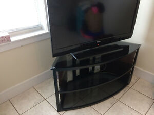 Glass Corner TV Stand - In great condition